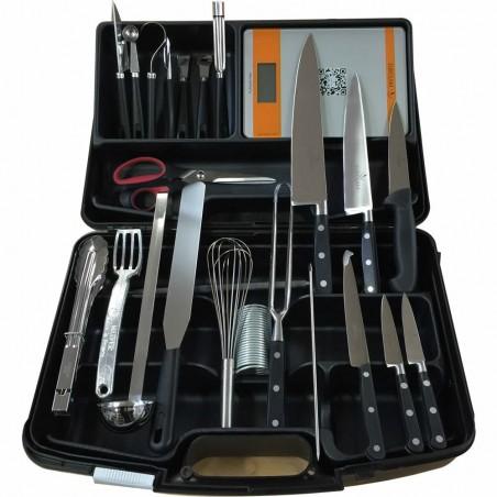 Mallette couteaux et ustensiles Cuisine