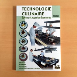 Technologie culinaire...