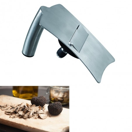 Coupe truffes ergonomique inox