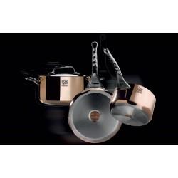 Sauteuses bombée cuivre inox PRIMA MATERA spécial induction De Buyer