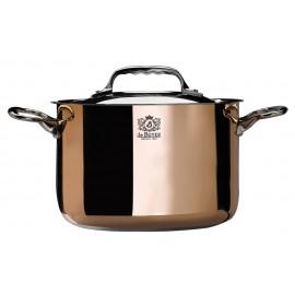 Braisière cuivre inox PRIMA MATERA spécial induction De Buyer