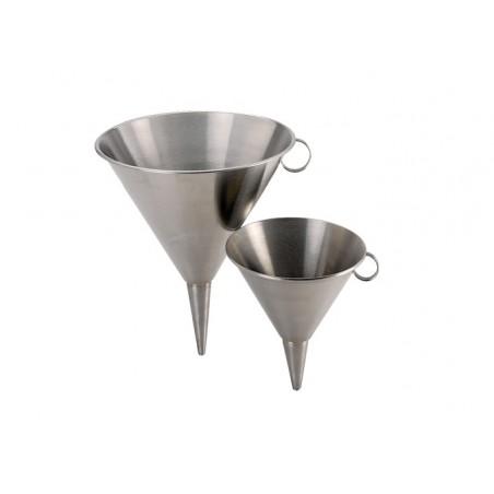 Entonnoir inox avec ou sans filtre