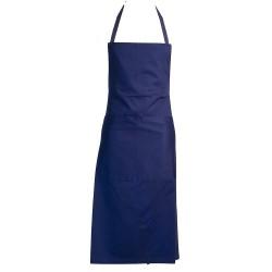 Tablier de sommelier 100% coton bleu marine ROBUR