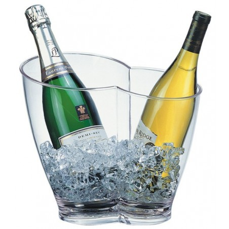 Seau à vin et champagne (2 bouteilles)