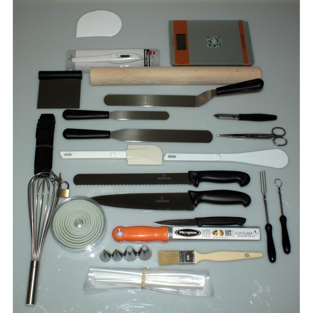 mallette couteaux et ustensiles top 39 p tisserie pro 27. Black Bedroom Furniture Sets. Home Design Ideas