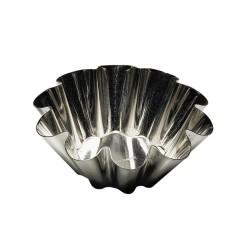 Moule à brioches 10 côtés fond plat