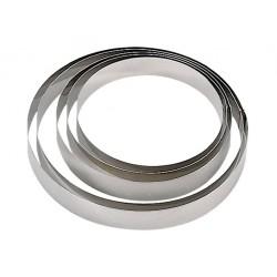 Cercle à mousse inox