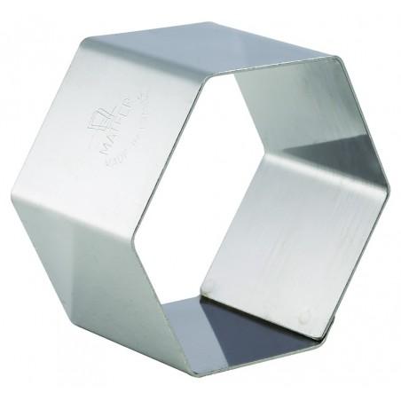 Nonnette inox  hexagone