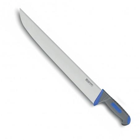 Couteaux boucher sacrificateur FISCHER BARGOIN 42 CM manche bi-matière ergonomique