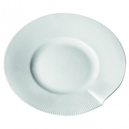 Assiettes plates ailes larges Gamme CANOPÉE x12