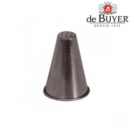 """Douille """"nid"""" inox 7 trous De Buyer"""