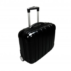 Mallette Valise border case TROLLEY noire