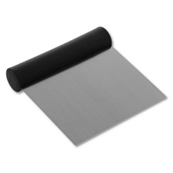 Coupe-pâte inox carré rigide
