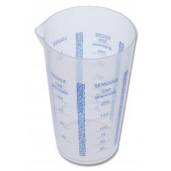 Verre doseur plastique 25 cl
