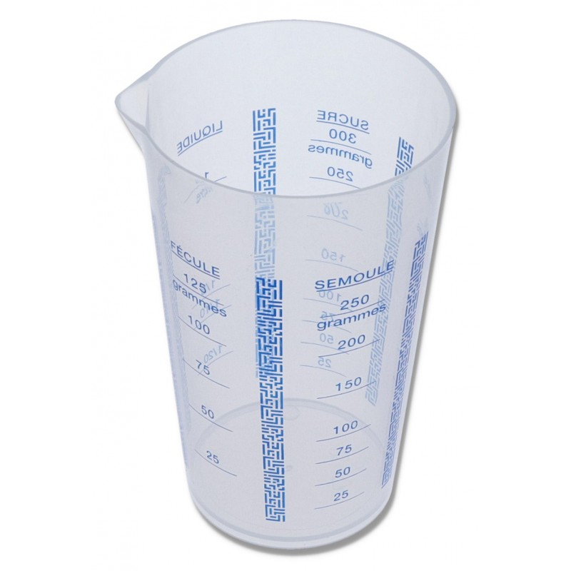 Verre doseur plastique 0,5L