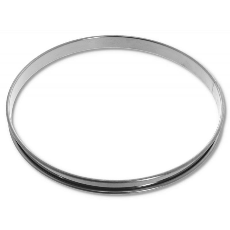 Cercle à tarte inox 180
