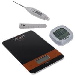 Set balance minuteur thermomètre