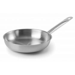 Poêle chef ⌀28 Cm inox