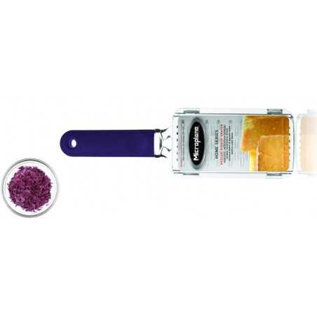 Home Râpe Double tranchants large manche prune Microplane