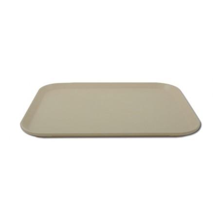 Plateau de service rectangulaire 46x36 cm surface lisse