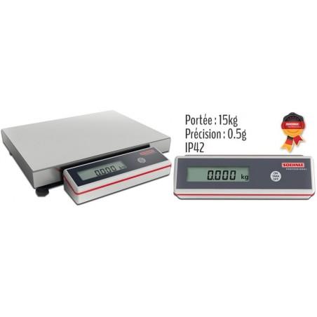 Balance professionnelle 15kg/0,5g IP42