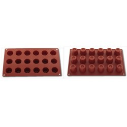 Moule silicone alimentaire mini bordelais