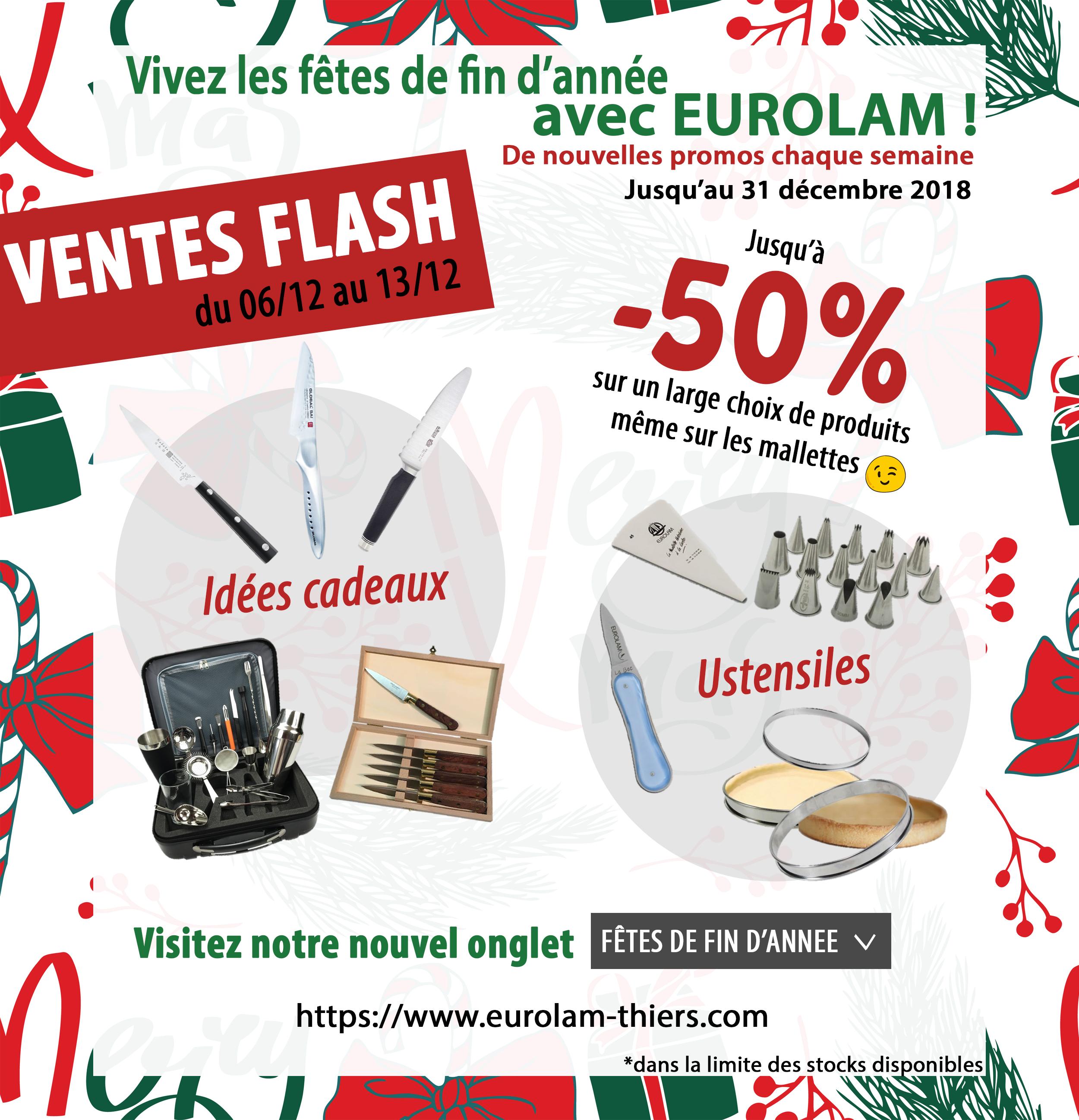 Les fêtes de fin d'année avec EUROLAM !
